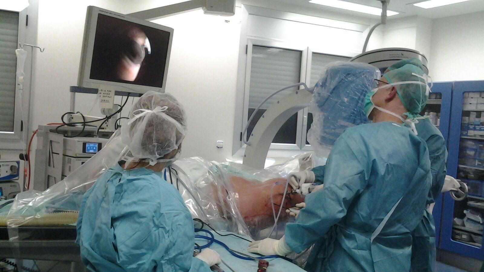 Primera artroscòpia de maluc de la comarca d'Osona